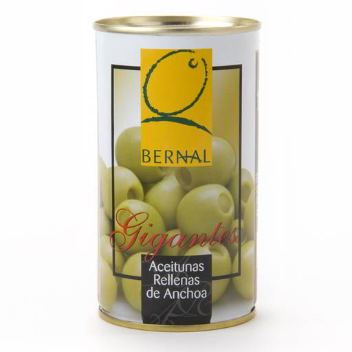 Aceitunas Rellanas de Anchoa (Anchovy Stuffed Olives) 350g tin