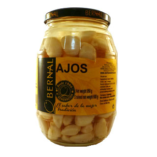 Ajos (Pickled Garlic) 600g jar