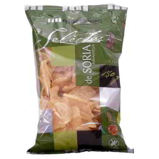 Soria Hand Cooked Olive Oil Crisps 150g