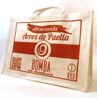 Jute Bag Arroz de Paella